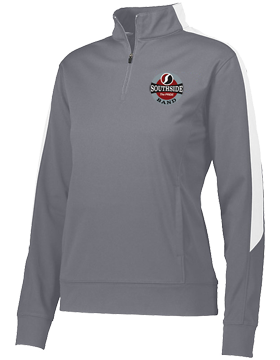 Southside Band Graphite and White Ladies Medalist 2.0 Pullover 4388