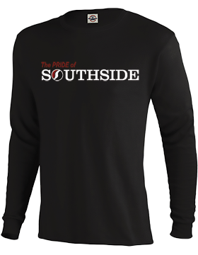 The PRIDE of Southside Black Long Sleeve T-Shirt D61A