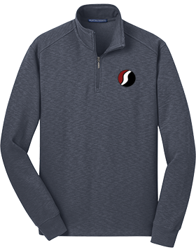 Southside The PRIDE Slate Fleece Quarter-Zip Pullover F295