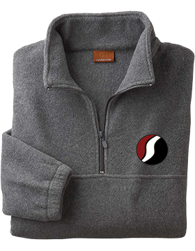 Southside The PRIDE Charcoal Quarter-Zip Fleece Pullover M980