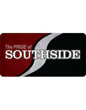 Southside Marching Band License Plate