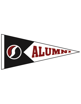 Southside Logo with Alumni Pennant Sticker