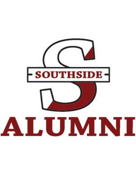 Southside Logo with Alumni Square Sticker