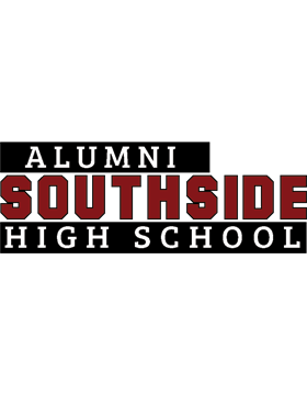 Southside HS with Year Customizable Alumni Bumper Sticker