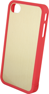 Custom iPhone 4/4S Bumper Cover with DynaSub Insert small