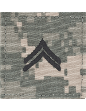 ACU Rank with Fastener E-4 Corporal