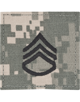 ACU Rank with Fastener E-6 Staff Sergeant