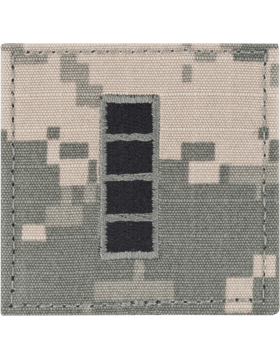 ACU Rank with Fastener CW4 Warrant Officer 4