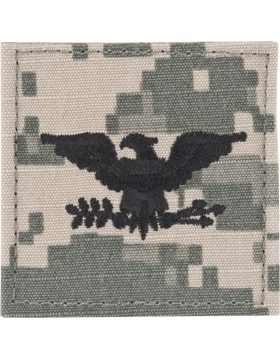 ACU Rank with Fastener Colonel
