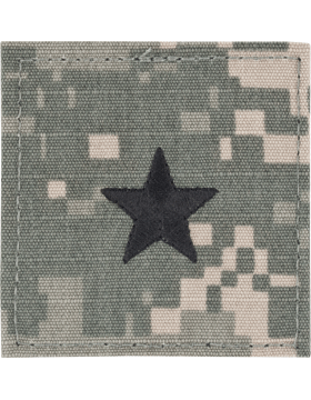 ACU Rank with Fastener Brigadier General