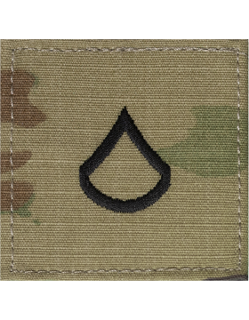 Scorpion Rank (SV-202) Private First Class E-3 with Fastener (SV-202)
