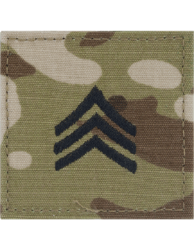 Scorpion Rank (SV-205) Sergeant E-5 with Fastener (SV-205)
