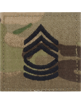 Scorpion Rank (SV-208) Master Sergeant E-8 with Fastener (SV-208)