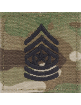 Scorpion Rank (SV-211) Command Sergeant Major E-9 with Fastener (SV-211)
