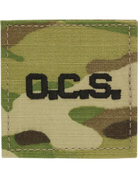OCS letters Scorpion rank with fastener