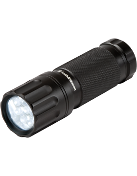Galaxy 9 LED White Personal Flashlight Black Matte SW090WT