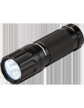 Galaxy 9 LED White Personal Flashlight Black Matte SW090WT