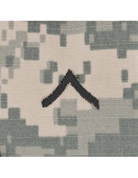 Sew On Cap Rank (101) ACU Private E-2