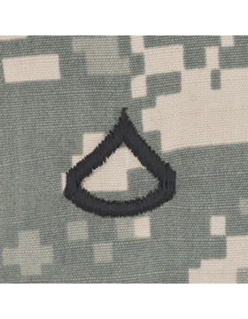 Sew On Cap Rank (101) ACU Private First Class E-3