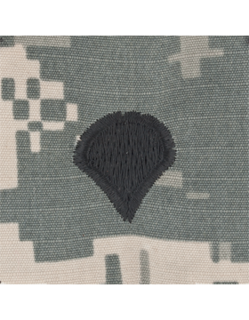 ACU Sew On Cap Rank E-4 Specialist Four