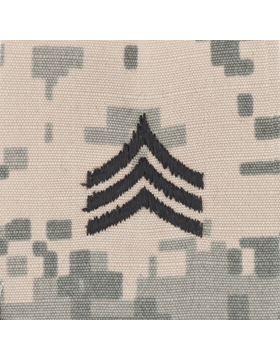 ACU Sew On Cap Rank E-5 Sergeant