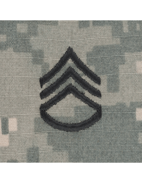 Staff Sergeant (E-6) ACU Sew-On Cap Rank
