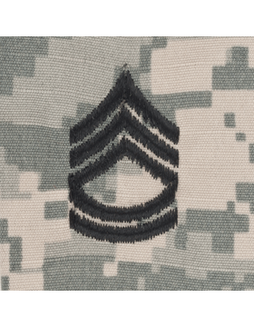 ACU Sew On Cap Rank E-7 Sergeant First Class