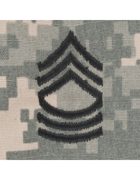 ACU Sew On Cap Rank E-8 Master Sergeant