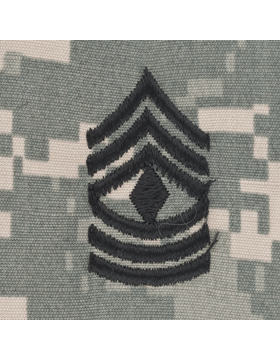 First Sgt (E-8) ACU Sew-On Cap Rank