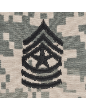 ACU Sew On Cap Rank E-9 Sergeant Major