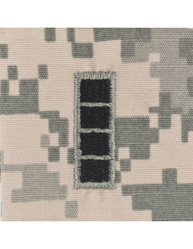 Warrant Officer 4 ACU Sew-on Cap Rank