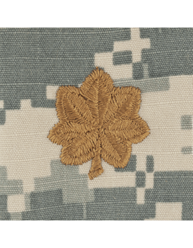 ACU Sew On Cap Rank Major
