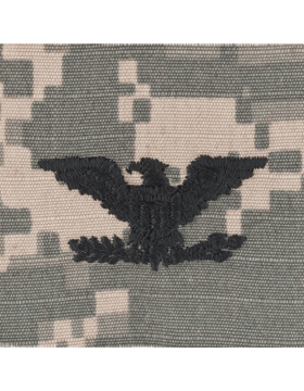 ACU Sew On Cap Rank Colonel
