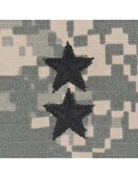 ACU Sew-on Shirt Rank Major General Point to Center