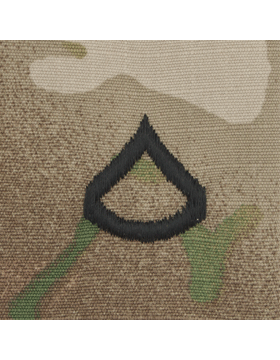 SVR-202, Private First Class (E-3) PFC, Scorpion Sew-On 2x2 Rank