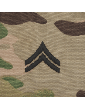 SVR-203, Corporal (E-4) CPL, Scorpion Sew-On 2x2 Rank