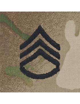 SWV-206, Staff Sergeant (E-6) SSG, Scorpion Sew-On Cap Rank