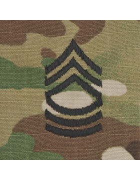 SVR-208, Master Sergeant (E-8) MSGT, Scorpion Sew-On 2x2 Rank