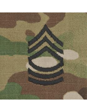 SWV-208, Master Sergeant (E-8) MSGT, Scorpion Sew-On Cap Rank
