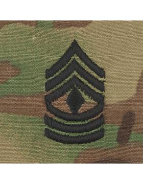 SWV-209, First Sergeant (E-8) 1SG, Scorpion Sew-On Cap Rank