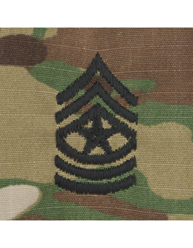 SVR-210, Sergeant Major (E-9) SGM, Scorpion Sew-On 2x2 Rank