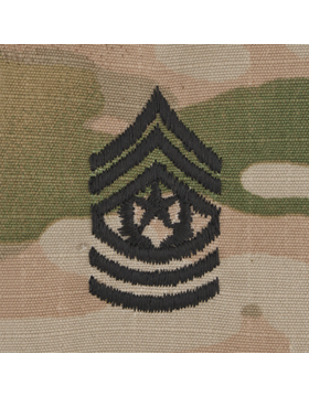 SVR-211, Cmd Sgt Major (E-9) CSM, Scorpion Sew-On 2x2 Rank