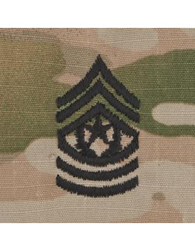 SWV-211, Cmd Sgt Major (E-9) CSM, Scorpion Sew-On Cap Rank
