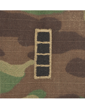 SVR-215, Warrant Officer 4, Scorpion Sew-On 2x2 Rank