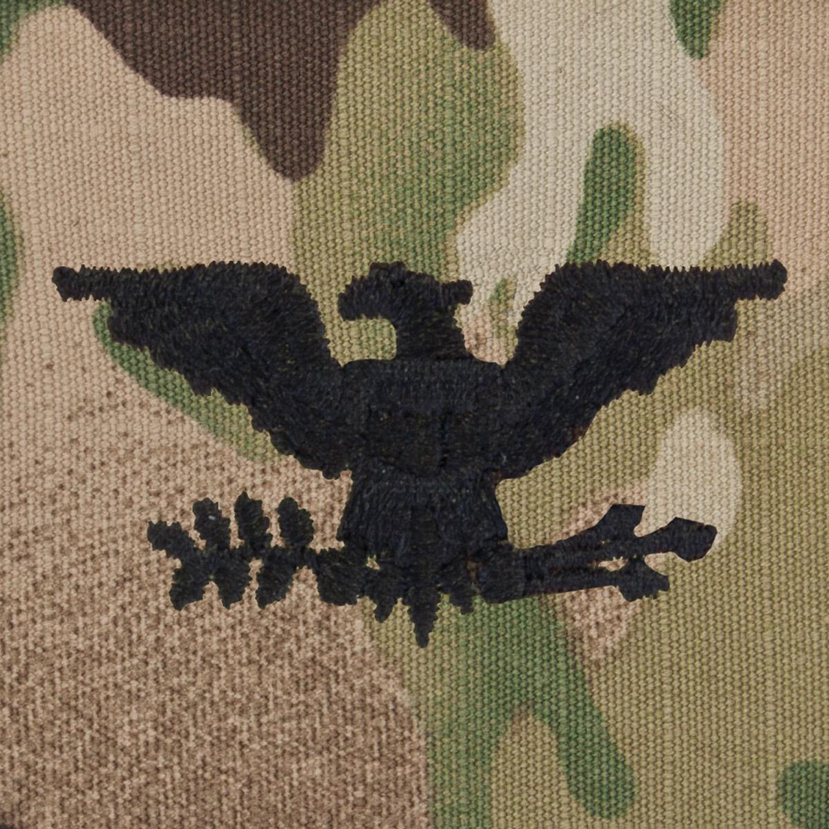 SVR-221, Colonel (COL), Scorpion Sew-On 2x2 Rank | US Military