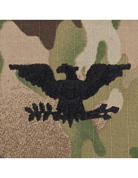 SWV-221, Colonel (COL), Scorpion Sew-On Cap Rank