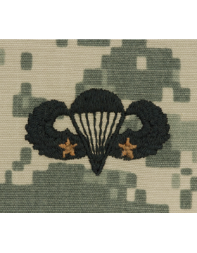ACU Sew-on SWV-307B Combat Parachutist Second Award