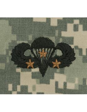 ACU Sew-on SWV-307C Combat Parachutist Third Award