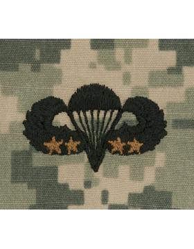 ACU Sew-on SWV-307D Combat Parachutist Fourth Award