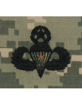 ACU Sew-on SWV-309A Master Combat Parachutist First Award